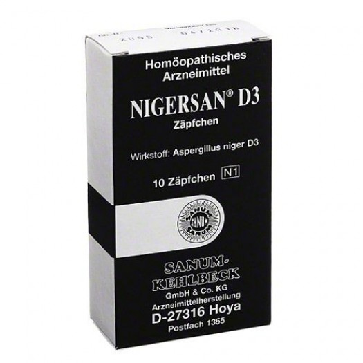 NIGERSAN D3 10 SUPPOSTE