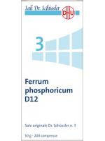 Ferrum phosphoricum (Fosfato di ferro)