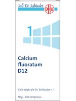 Calcium fluoratum (Fluoruro di calcio)