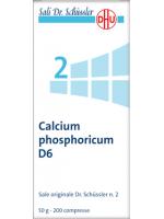 Calcium phosphoricum (Fosfato acido di calcio)