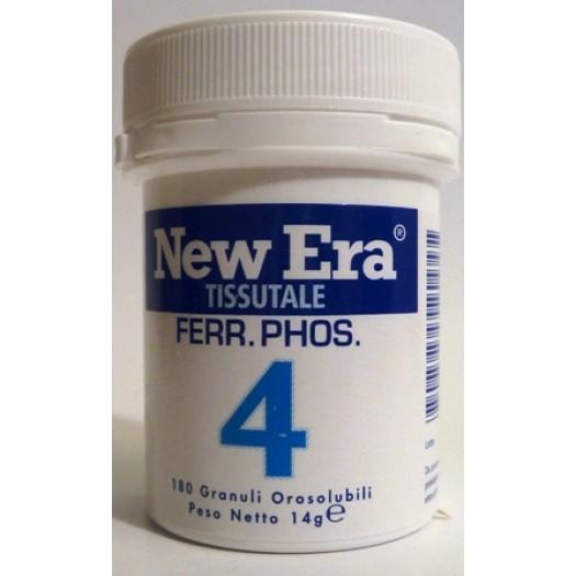 NEW ERA - N. 4 – Ferrum phosphoricum